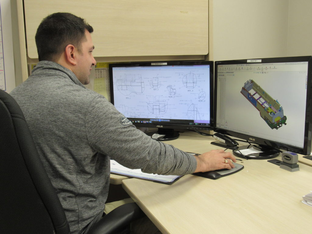 Engineering Working with CAD Software